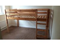 Flexa classic mid high bed