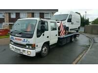 2005 Isuzu NQR 7.5T recovery truck