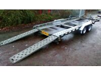Used Car transporter trailer 16ft twin axle