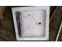 Bathroom shower Tray plastic good condition