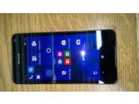 Mint Microsoft lumia 650, unlocked, Windows 10