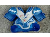 Ice Hockey body armour shoulder pads