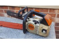 Stihl MS200T Chainsaw top handle