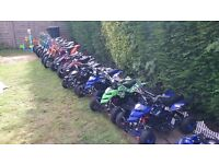 brand new old stock pit bikes and quads