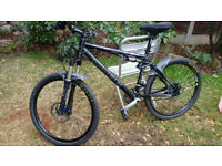 Cube 100 Pro Mountain Bike Full Suspension Hydraulic Brakes Air sprung suspension