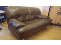 *FREE TO COLLECT* 2 person leather sofa