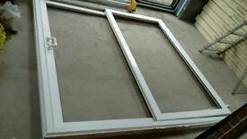 UPVC Sliding door double glazed, marked
