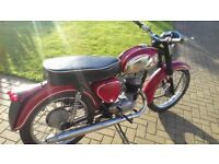 BSA Bantam 1971 with matching numbers, ride or restore