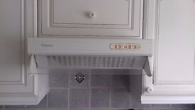 Hygena white extractor hood for sale. Good working condition