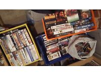 Joblot of videos for sale 190 ish