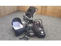 iCandy Apple travel system pram 3 in 1 with isofix base
