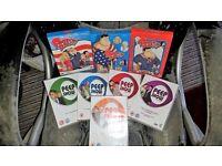 DVD assortment American Dad, Peep Show, Comedy, Brand, Boyle, Carr, Ferrell, Bailey