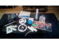 Nintendo Wii with games and accessories LOOK
