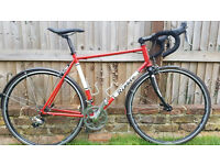 Ribble 2015 Steel Road Bike 56cm Shimano 105 Groupset