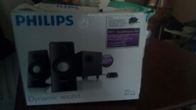 Philips speaker with woofer only £30