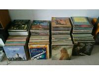 Huge collection Records Vinyls OVER 800 - MUST GO ASAP TODAY X