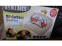 Shiatsu massager for use all over body and neck