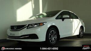 2015 Honda Civic LX garantie 6/160km