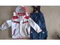 WINTER BRANDED WEST SCOUT - JACKET/SKI AND TROUSERS