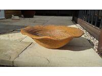 Large Terracotta Bowl