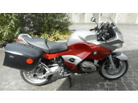 BMW R1200ST, ABS, Panniers, Service History
