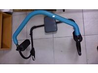 Blue And Grey Ab Roller in Great Condition