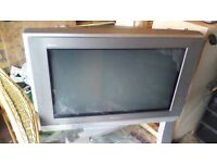 Panasonic Flatscreen TV with Stand and remote controller