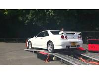 Nissan skyline damaged wanted nissan GTR gtt gtst