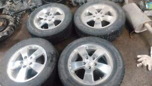 Grand Prix Winter Tires with CHROME RIMS