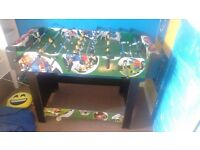 Football table for sale comes from a smoke free home
