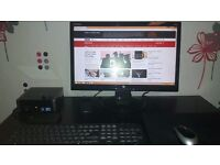 Fujitsu I3 complete PC set up