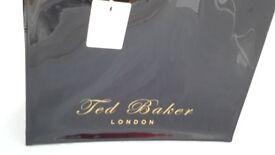 TED BAKER LARGE BLACK PATIENT BAG BNWT AUTHENTIC
