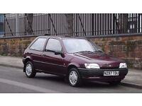 1995 Ford Fiesta 1.3 Frascati 3 Door Hatchback, Very Low Miles, Full Service History, Must see!