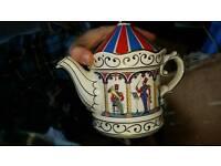 Sadler teapots - Bandstand and Ye olde teapot inn. £15 for both