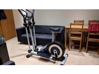 Roger Black Silver 2 in 1 Exercise Bike and Cross Trainer for sale £40