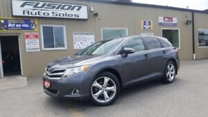 """2014 Toyota Venza LE AWD-V6-20""""WHEELS-TOUCH SCREEN-1 OWNER OFF L"""