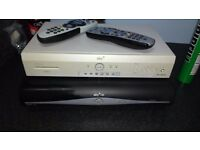 SKY HD Box with remote (pet/smoke free home)