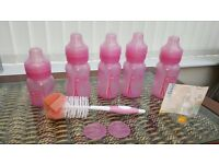 Dr Brown Anticolic Bottles with cleaning brush and teat