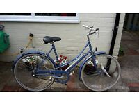 Ladies Classic Raleigh Chiltern Step Through Town Shopper Bike 3 - Speed Bicycle