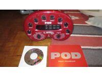 POD V1 Guitar Processor