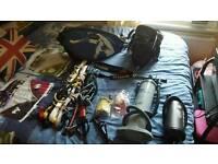 NEGOTIABLE kitesurf equipment flexifoil atom 2 harness bars wetsuit