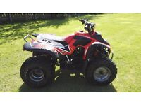 COBRA 180 QUAD with new battery, rims & chunky tyres. Starts and runs perfectly!