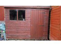 garden shed - 8x6 feet