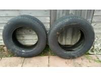 265/65/17 Goodyear Tyres X2