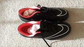 Unisex Nike Mercurial black leather shoes- size 9.5 UK (44.5 EUR)