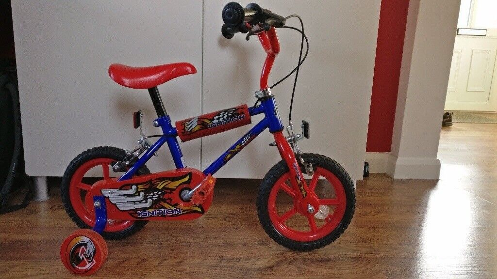 Children's Bike with Stabilisers 2-4 years