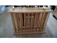 8 sided wooden toddler playpen