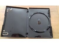 Genuine AMARAY DVD Cases £5 for 100 14mm Sleeved - 2000 available collection only Stockport