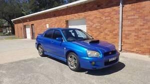 2003 Subaru Impreza WRX (Sunroof, Rego, Sedan) South Hurstville Kogarah Area Preview