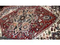 XL Indian handmade wool rug